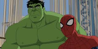 Image result for spiderman and hulk