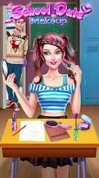 School Date Makeup - Girl Dress Up APK screenshot thumbnail 2