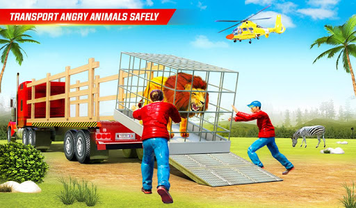 Farm Animal Transport Truck Driving Simulator  screenshots 11