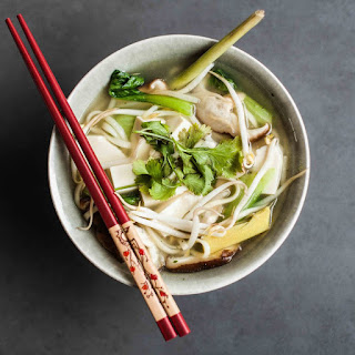 Noodle Soup with Lemongrass and Ginger.