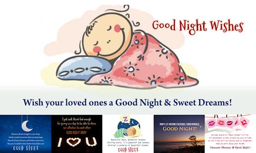 Good Night Obrázky - náhled