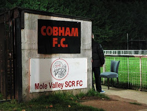 Photo: 15/11/11 v Guernsey (Combined Counties League Cup Round 3) 3-2 - contributed by Leon Gladwell