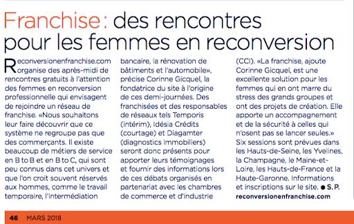 Franchise, management magazine