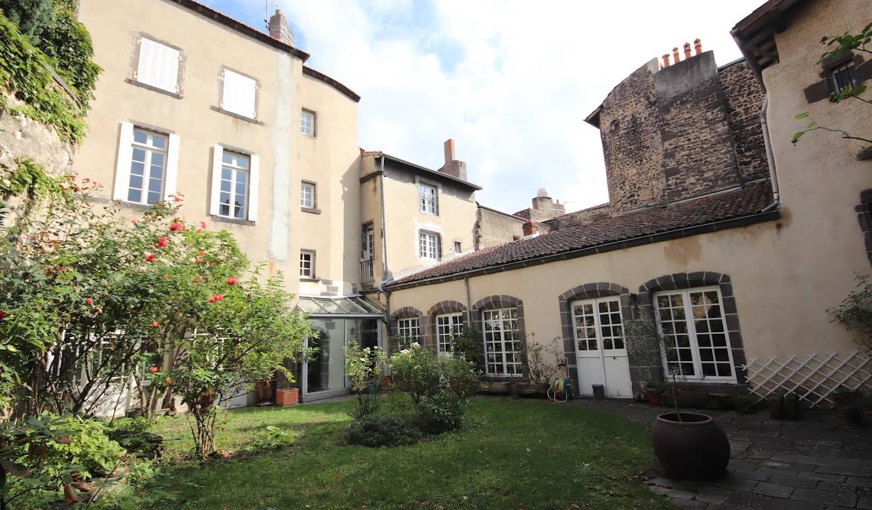 Hôtel particulier avec jardin Riom