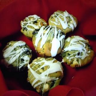 Blackberry & White Chocolate Muffins.