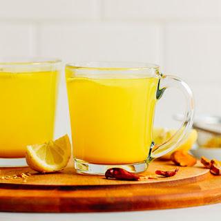 Healing 3-Ingredient Turmeric Tonic.