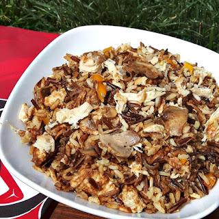 Canadian Wild Rice and Turkey Casserole.