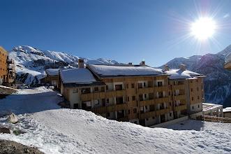 Photo: La résidence en hiver