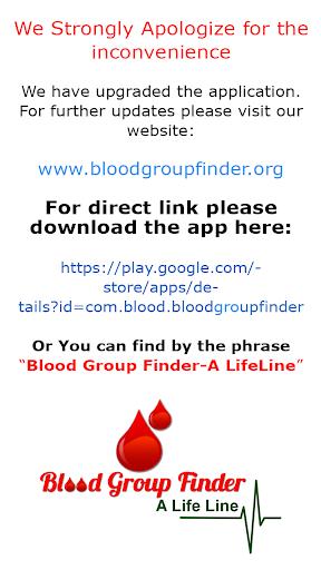 Blood Group Finder