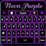 Neon Purple Keyboard