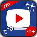 myVideos 3D+ PRO icon