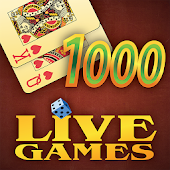 Thousand LiveGames - free online card game 1000