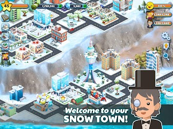 Snow Town - Ice Village World Winter Age APK screenshot thumbnail 12