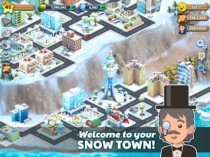 Snow Town – Ice Village World: Winter City 7