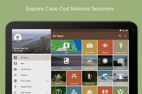 Cape Cod Ntl Seashore: Chimani- screenshot thumbnail