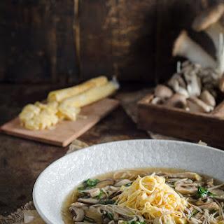 Oriental Mushroom Soup Recipes