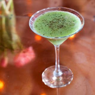 Avocado Martini Cocktail.