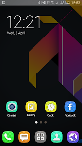 Colorful Launcher Theme FREE screenshot 8
