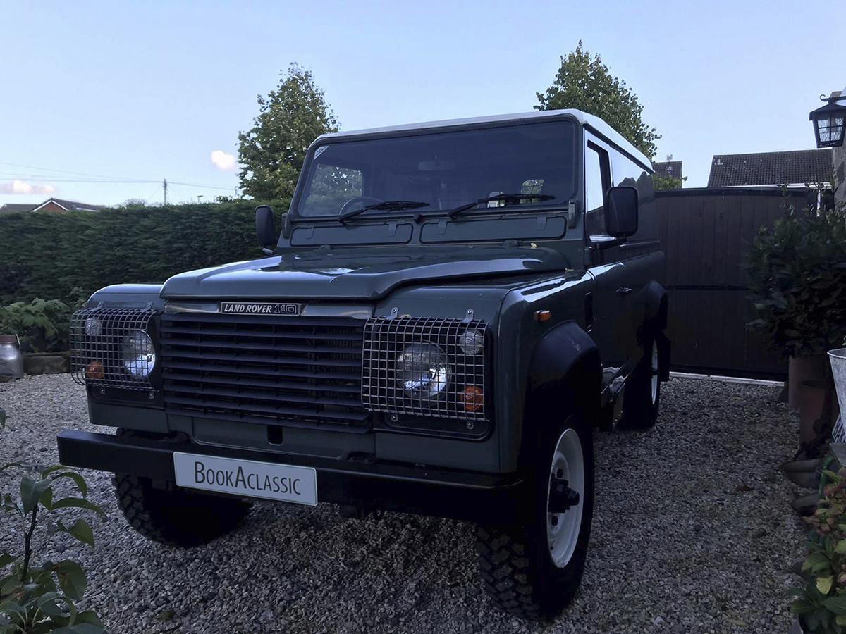 Land Rover Defender 110 Hardtop Hire Barnsley