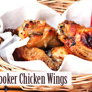 Slow Cooker Sweet and Sour Chicken Wings.
