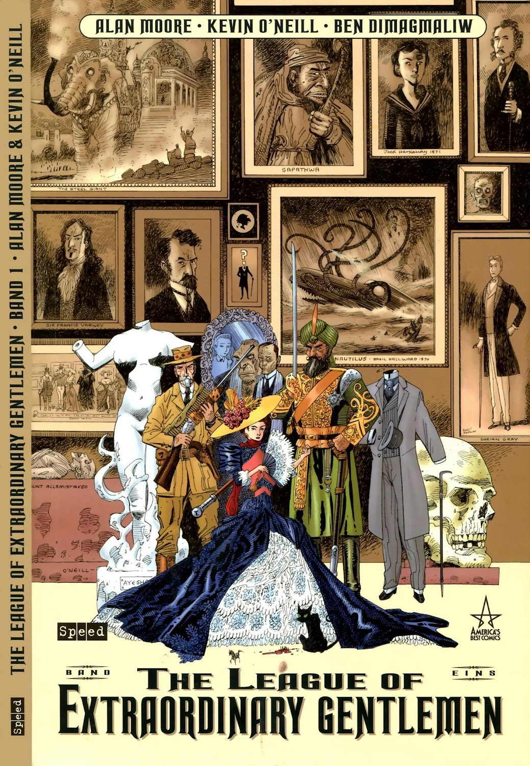 Comix Load The League Of Extraordinary Gentlemen 2003 Komplett Comix Load In