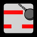 Construction Falldown icon