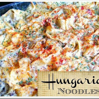 Hungarian Noodles Recipe
