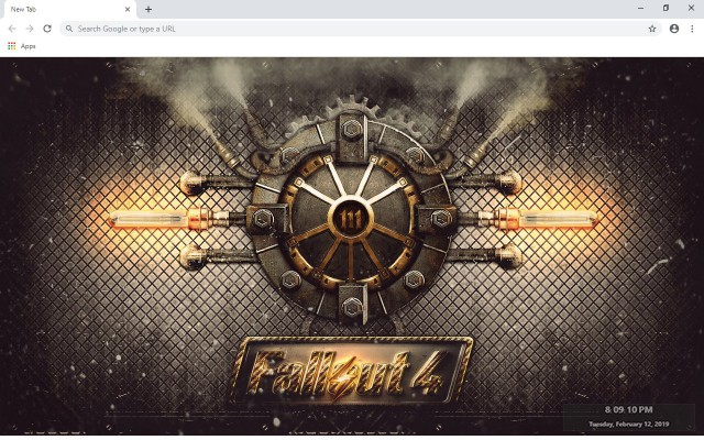 Fallout 4 New Tab & Wallpapers Collection