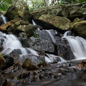 Small water Falls by Sankar GM - Landscapes Waterscapes ( waterfowl, waterscape, water splash,  )