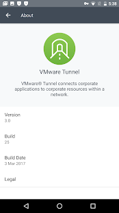 VMware Tunnel - náhled