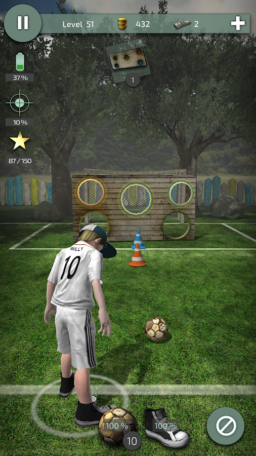 Willy The Striker (Soccer)- screenshot