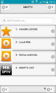 MKIPTV – iptv playerstream playerOnline XML / m3 loading
