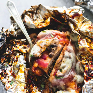 Grilled Smothered BBQ Chicken Foil Packs