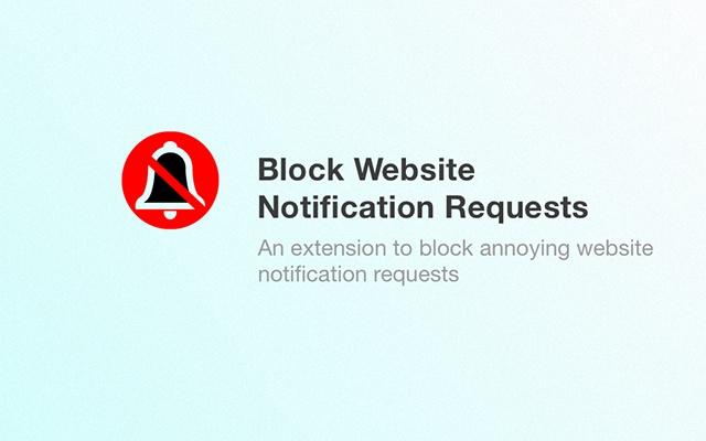 Block Website Notification Requests