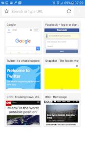 Good Browser - náhled