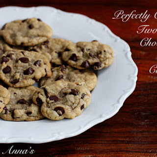 Chewy Two-bite Chocolate Chip Cookies