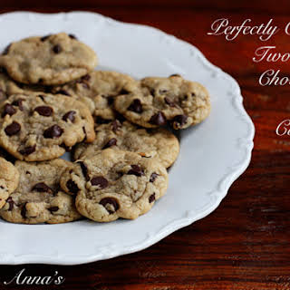 Chewy Two-bite Chocolate Chip Cookies.