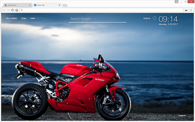 Motorcycles wallpapers hd new tab theme chrome web store voltagebd Images