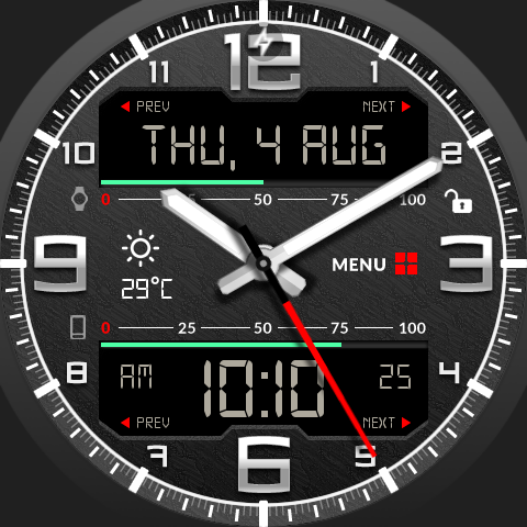 Guard Watch Face- screenshot