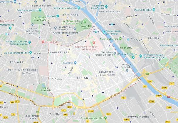 13º arrondissement des Gobelins
