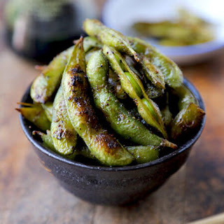 Soy and Sesame Edamame.