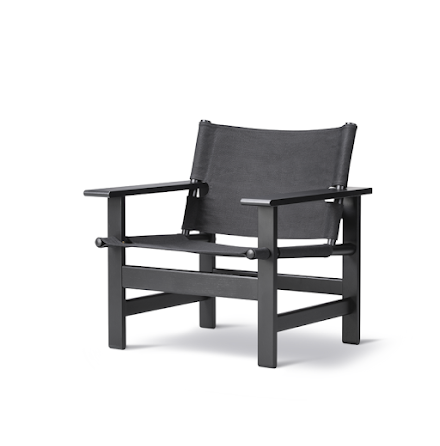 The Canvas Chair - Svart