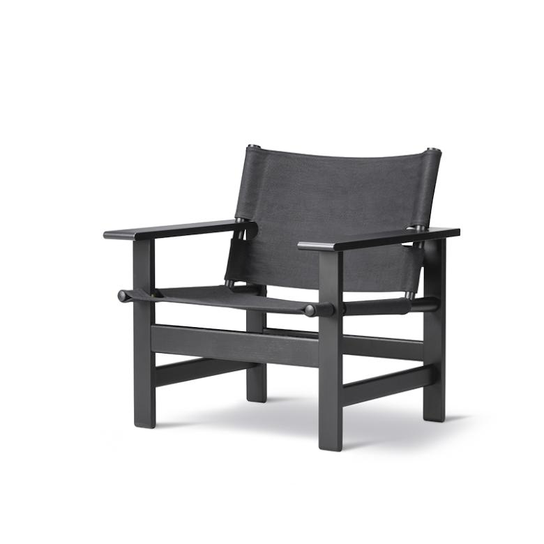 The Canvas Chair - Svart