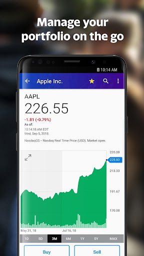 Yahoo Finance: Real-Time Stocks & Investing News 5.1.0 screenshots 2