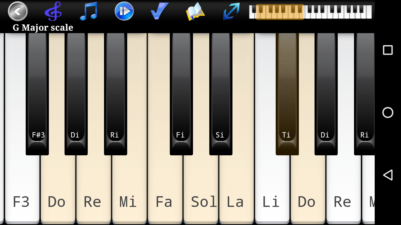 Piano scales chords pro android apps on google play piano scales chords pro screenshot hexwebz Image collections