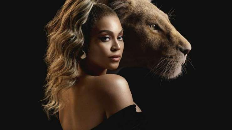 Beyonce features in Lion King