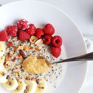 7 Ingredient Superfood Quinoa Breakfast Bowl.