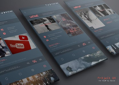 Project UX for KLWP v2.0