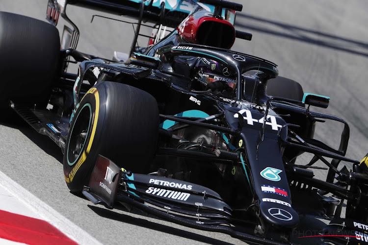 Lewis Hamilton pakt de pole na spannend duel, Verstappen start vanop tweede rij