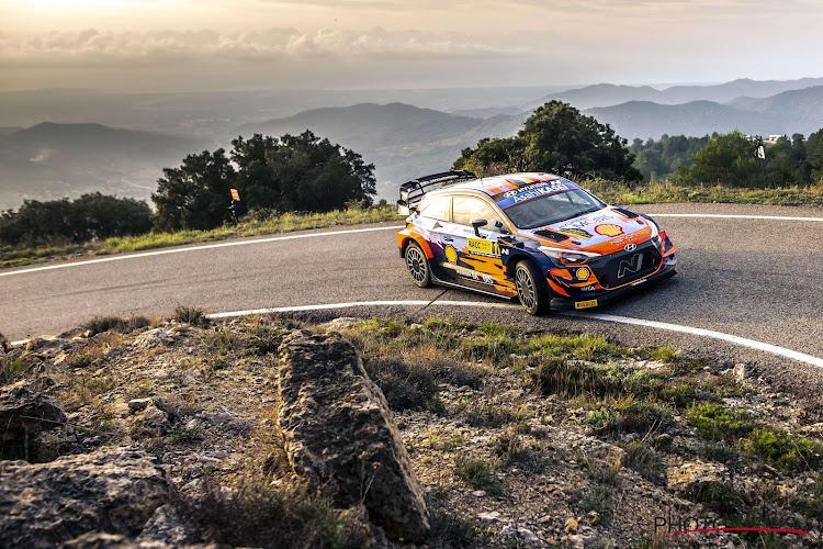 Thierry Neuville is leider in Spanje maar Toyota-rijder nog binnen dezelfde seconde